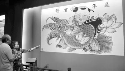 天津杨柳青木版年画博物馆开馆