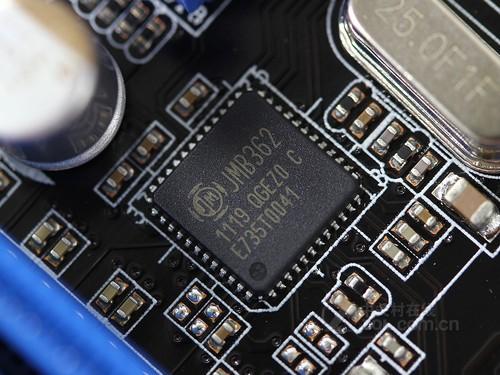 jmb362磁盘控制芯片进行sata3gbps接口控制