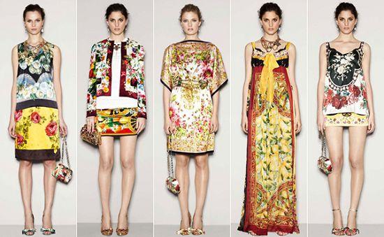 解读Dolce&Gabbana 2011秋冬时装时尚流行趋势(图2)