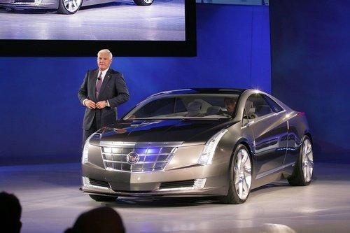 汽车已经投入到此款车型量产的工作上,凯迪拉克converj将于高清图片