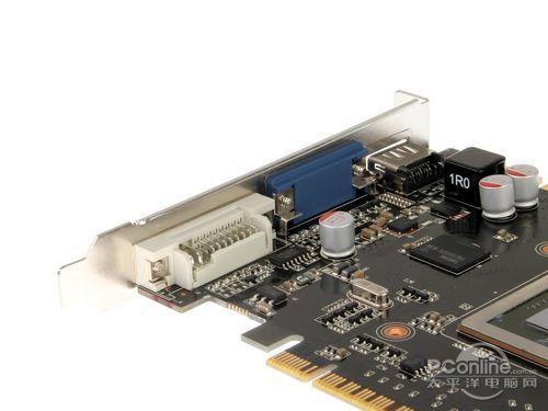 铭瑄翼gts450显卡的独立显存供电电路