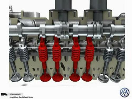 单作用气缸内部结构
