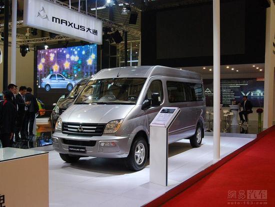 上汽maxus大通v80正式上市 售14.58万 23.98万高清图片