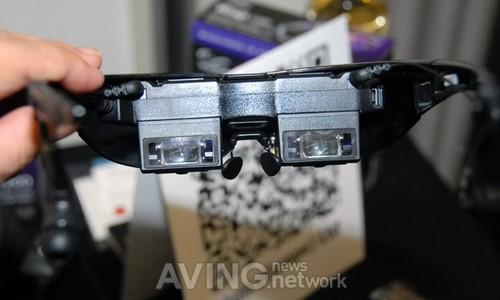 能投75吋 Vuzix展示大画面3D眼镜影院