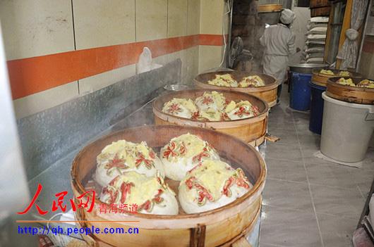 青海传统八宝月饼