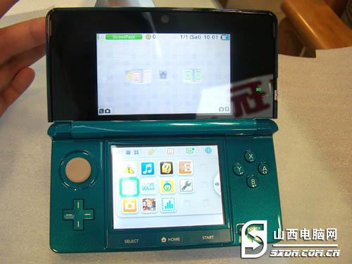 任天堂3DS游戏掌机