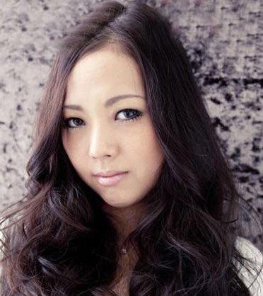 魅力中分卷发-时髦日系长卷发瘦脸百分百图片