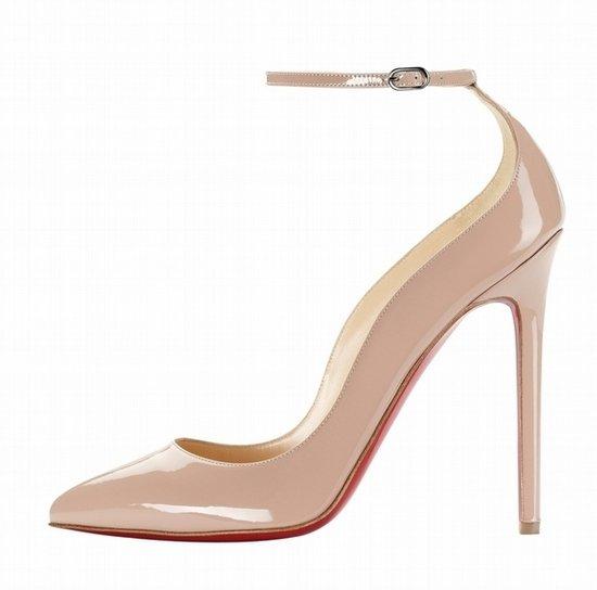 女星红毯秀长腿 必备裸色厚底高跟鞋图片