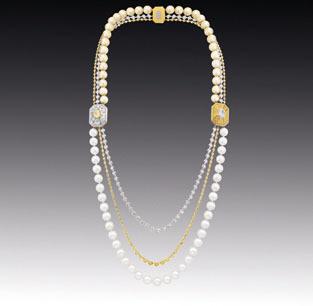 香奈儿高级珠宝掀起复古风潮高清图片