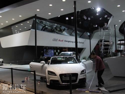 【奥迪展台中将以A7和R8 Spyder为主角】-广州车展探馆 重点车型及高清图片