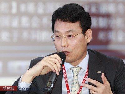韩国未来资产管理集团香港公司总裁 Woo Park