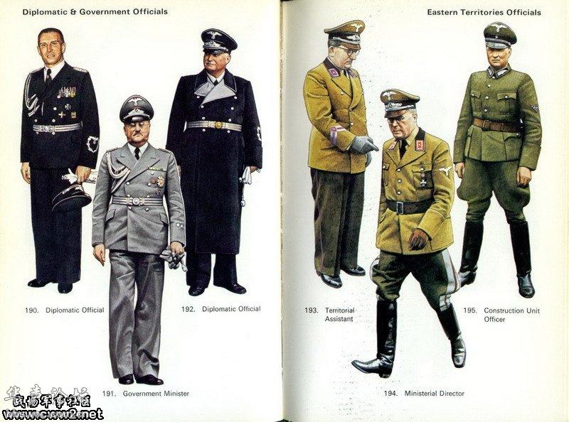 德国军装图片图片大全 纳粹德军的军装是世界上最帅的