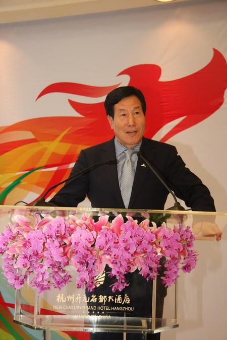 开元旅业集团董事长陈妙林做专题演讲