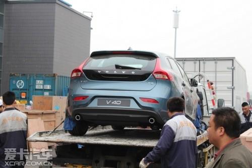北京车展探馆直击 沃尔沃两厢掀背车v40高清图片