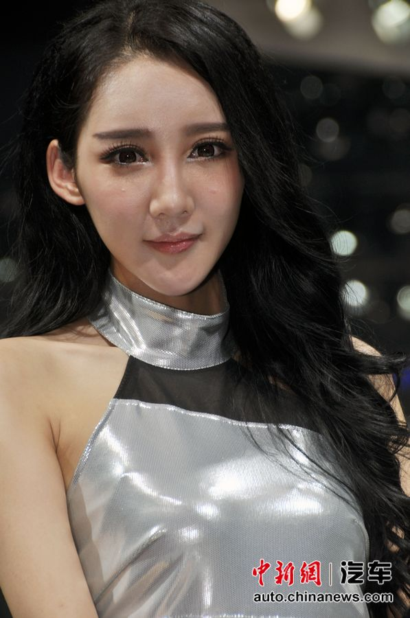 2012北京车展美女车模精选第二辑 汽车频道