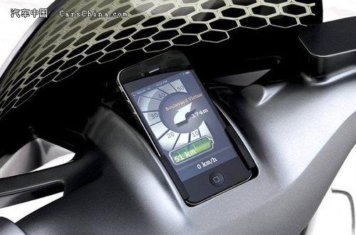 电动小精灵  Smart新电动摩托车将量产