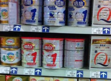 南山5批次奶粉查出含强致癌物