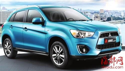 年度最受关注SUV 合资品牌 广汽三菱劲炫高清图片