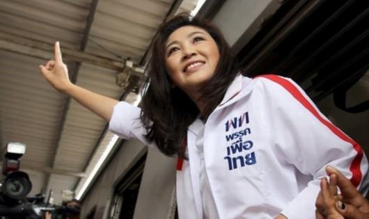 泰国美女总理英拉私房照曝光 号称头号美女[图]