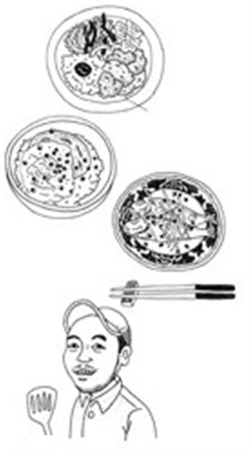 科学器皿简笔画-餐桌上的 新面孔 附照片