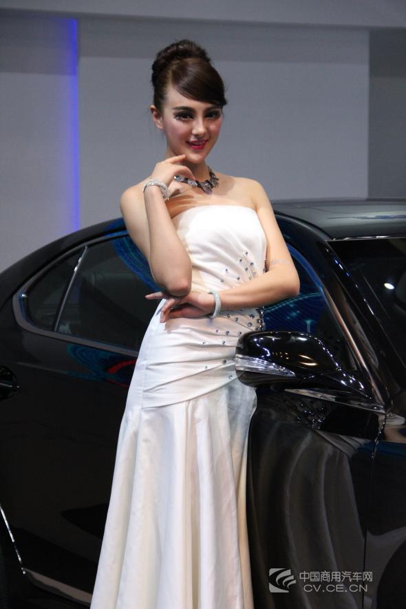 2013重庆国际车展车模精选 高清图片