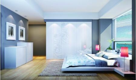 衣柜床一体图片组图 床和衣柜组合效果图片 节省空间的衣