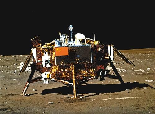 玉兔号月球全景图_嫦娥三号全景公开 两器互拍圆满结束_河南频道_凤凰网