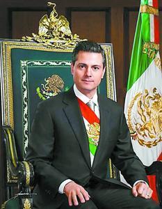 上海/墨西哥总统培尼亚。新华社发
