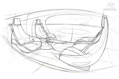 手绘未来汽车简笔画