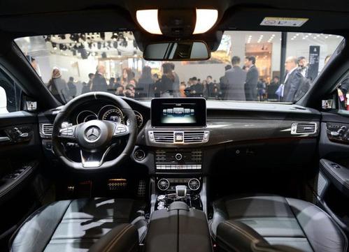 2015款奔驰cls级运动轿车 进口奔驰cls级amg视频发布高清图片