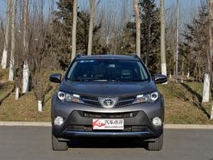 全新rav4是该车系的第四代车型;作为全新车型,全新rav4在外高清图片
