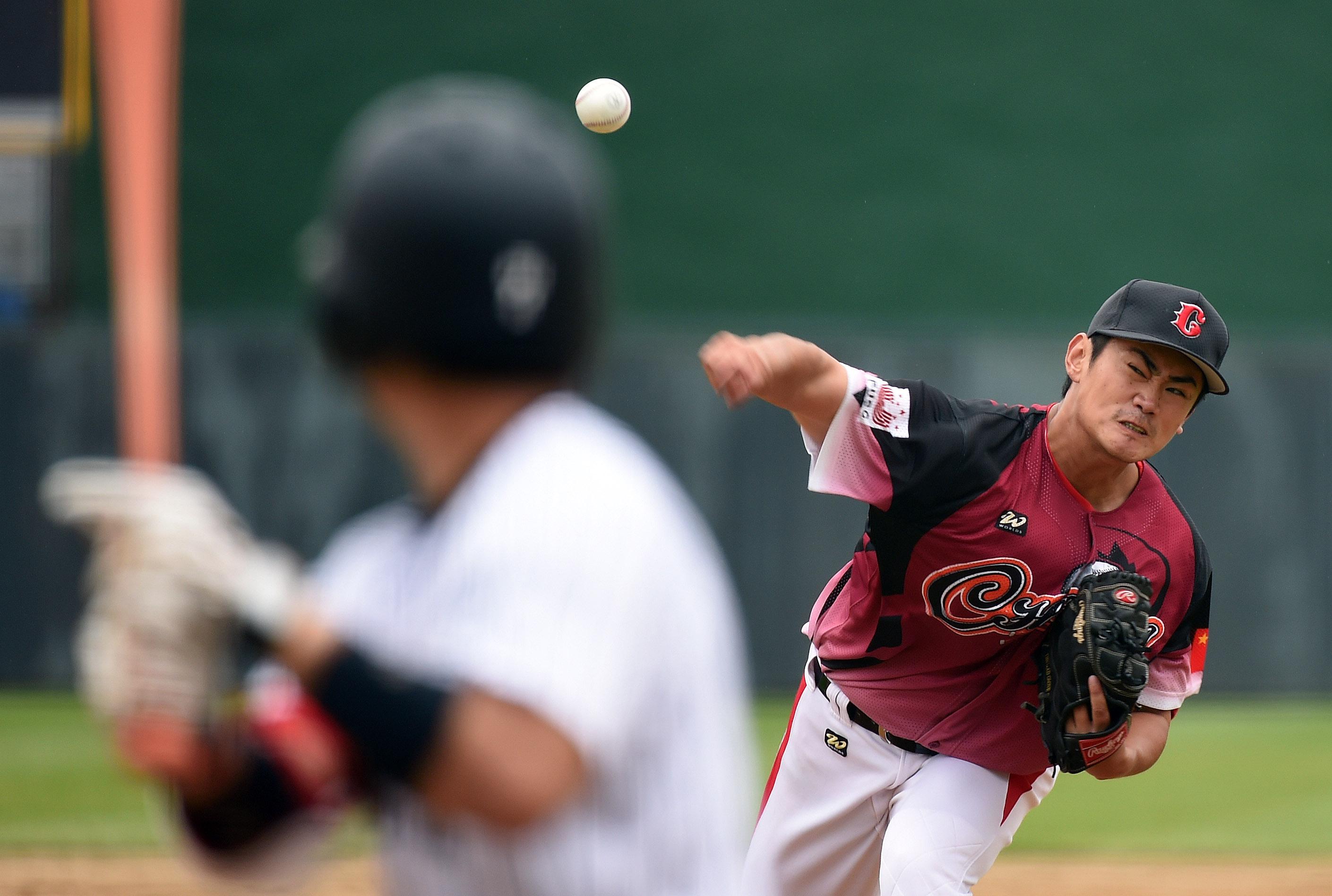 (锐视角)(1)棒球--大运会小组赛:中国队不敌日本队-新闻频道-和讯网