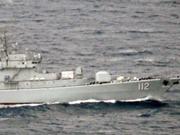 中国海军带侦察舰赴西太训练