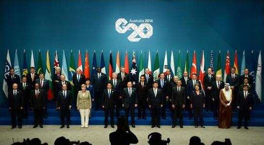 g20峰会手绘宣传画
