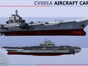国产001A航母可以搭载45架舰载机